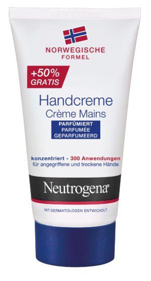 Neutrogena crème mains parfumée 50ml+50% gratuit 75 ml