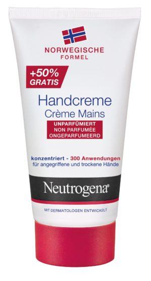 Neutrogena crème mains non parfumée 50ml+50% gratuit 75 ml