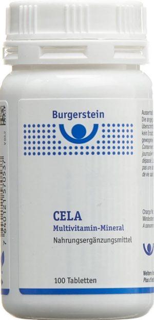 BURGERSTEIN CELA multivitamines-minéra cpr 100 pce