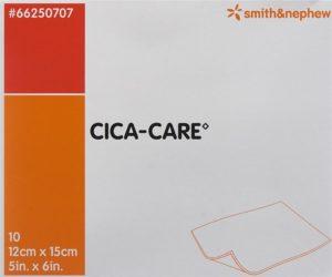 CICA-CARE plaque gel silicone 12x15cm 10 pce
