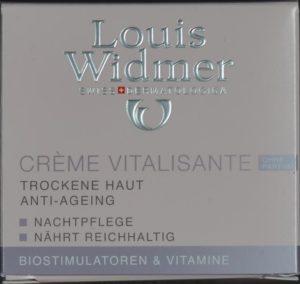 WIDMER Creme Vitalisante Unparf 50 ml