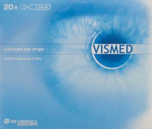 VISMED gtt opht 1.8 mg/ml 20 monodos 0.3 ml