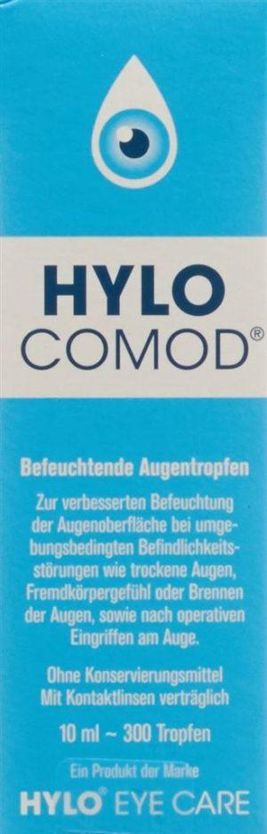 HYLO COMOD gtt opht fl 10 ml