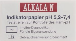 ALKALA N papier indicateur pH 5.2-7.4