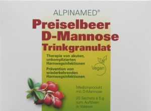 ALPINAMED Airelle rouge-D-Mannose gran 20 sach 5 g