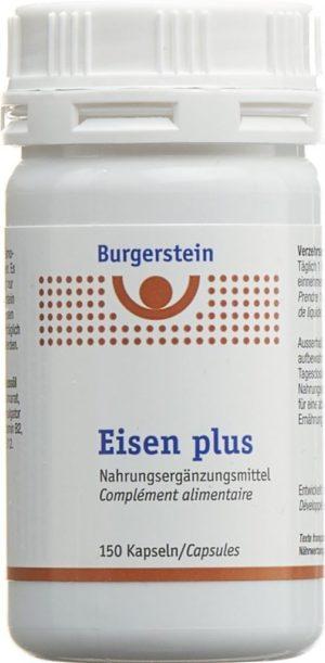 BURGERSTEIN Eisen plus caps bte 150 pce