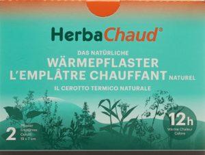 HERBACHAUD emplâtre chauffant 19x7cm 2 pce