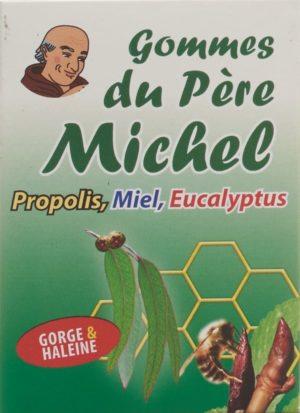 BIOLIGO gommes du père michel eucalyptus bte 45 g