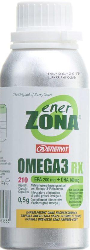 ENERZONA Omega 3 caps 0.5 g 210 pce