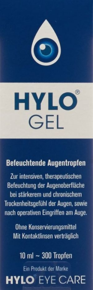HYLO-GEL gtt opht 0.2 % fl 10 ml