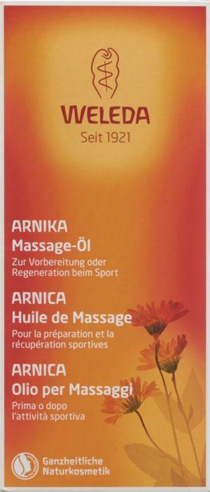 WELEDA huile massage arnica