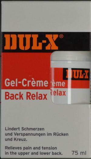 DUL-X Back Relax gel crème 75 ml