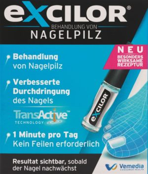 EXCILOR solution mycose des ongles 3.3 ml