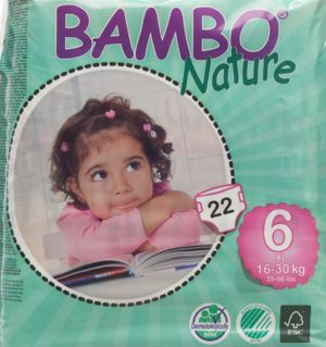 ABENA Bambo Nature XL-Plus 16-30kg 22 pce