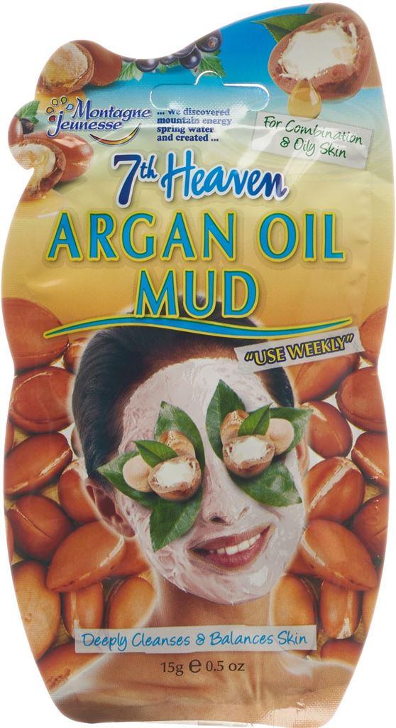 7TH HEAVEN masque de boue huile d'argan sach 15 g