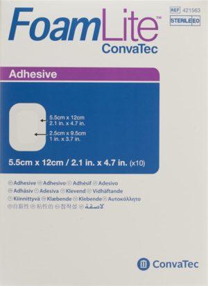 FOAM LITE Convatec mousse silicon 5.5x12cm 10 pce