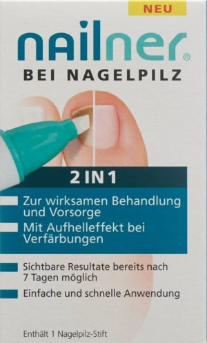NAILNER stylet contre mycose ongles 2-in-1
