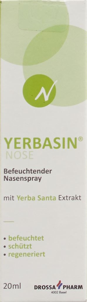 YERBASIN NOSE spray nasal hydratant 20 ml