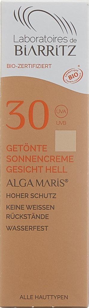 BIARRITZ Crème solaire Vis teintée cla SPF30 50 ml