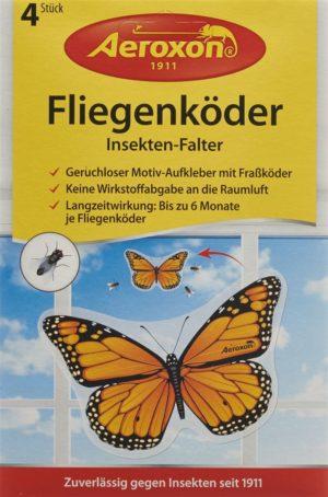 AEROXON Attrape-insectes Papillon 4 pce
