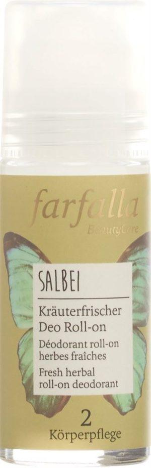 FARFALLA Déo roll-on herbes Salbei 50 ml
