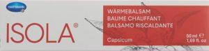 ISOLA Baume chauffant 50 ml