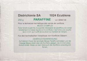 PARAFFIN SOLID Districhemie paraffin conserv 250 g