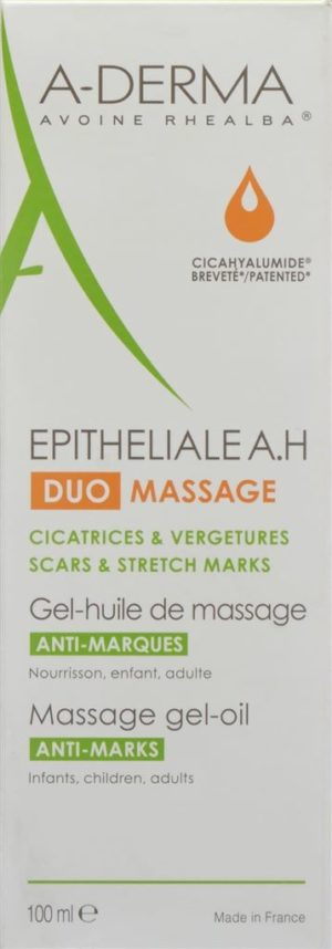 A-DERMA EPITHELIALE A.H Massage Gel-Huile 100 ml