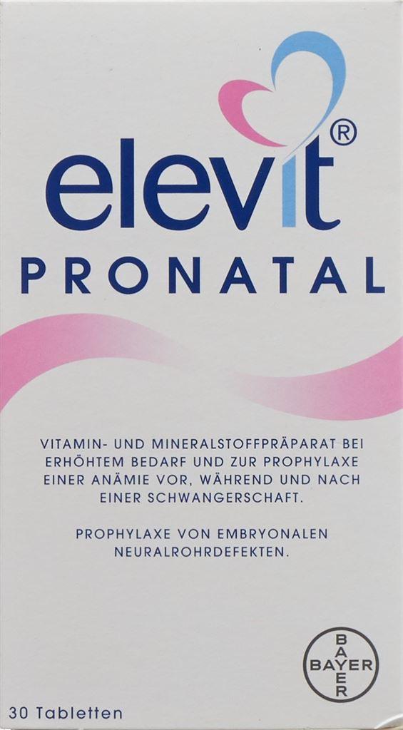 ELEVIT Pronatal cpr pell 30 pce